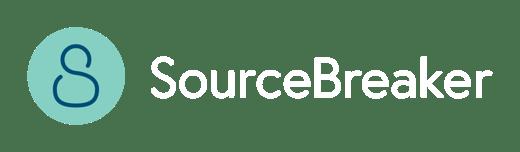 Sourcebreaker primary logo-inline-Dark background